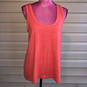 4/$25 Cynthia Rowley Orange Tank Top Large SALE